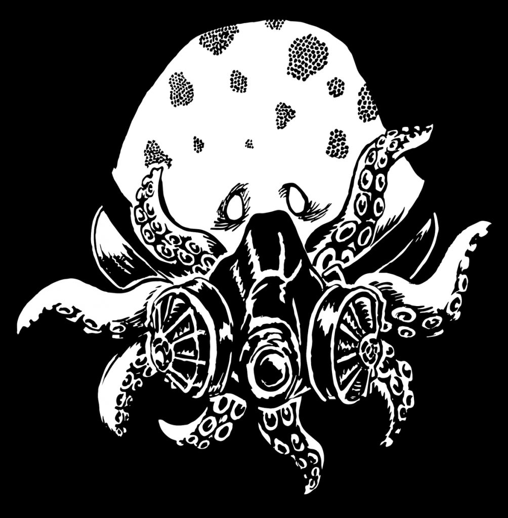 Gas Mask Octopus